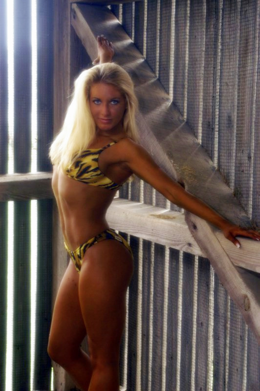 Shawn Rene Zimmerman Fitness Swimwear Photo Shoot Modeling