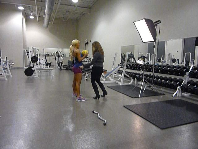 Oxygen Fitness Magazine Shawn Rene Zimmerman Fitness Modeling Photo Shoot