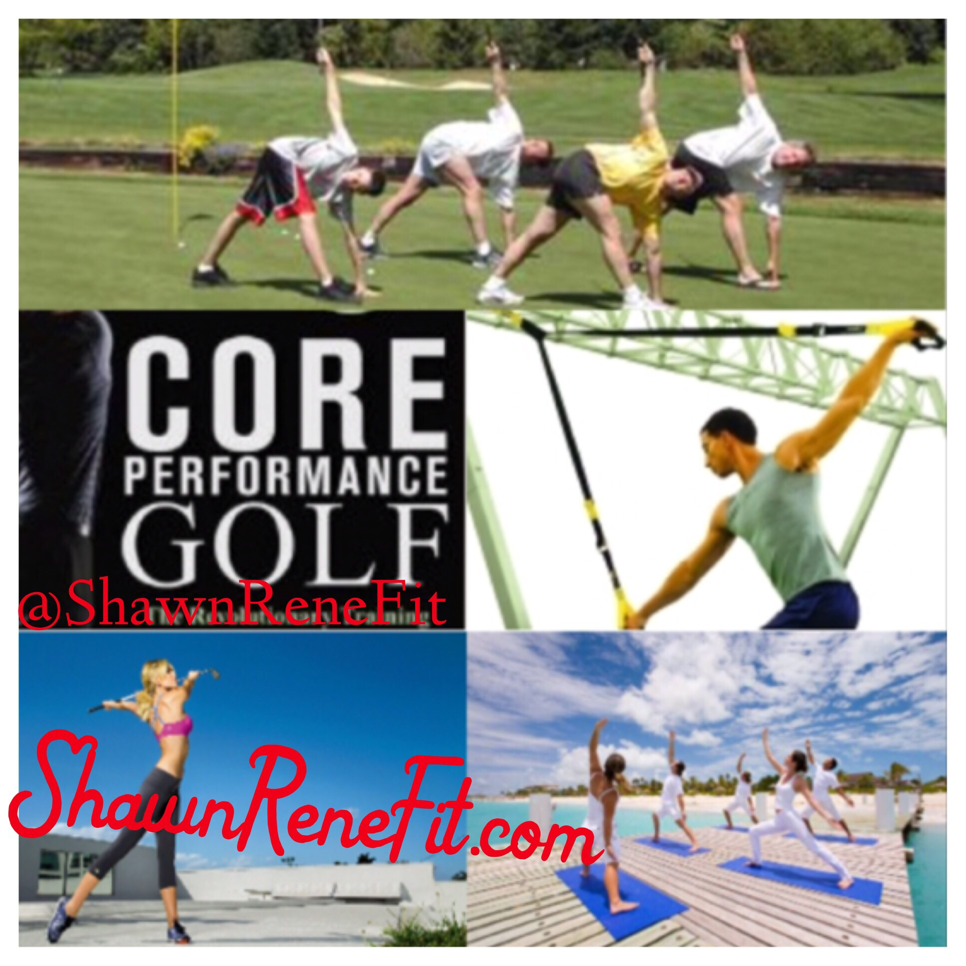 Shawn Rene Zimmerman golf workouts golf puma golf exercises core flexibility sports illustrated golf digest